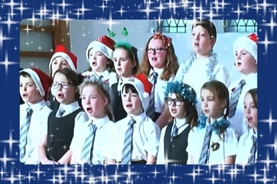 choir at Xmas
