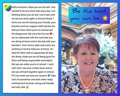 Mrs McQ message
